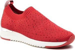 Czerwone buty sportowe Caprice