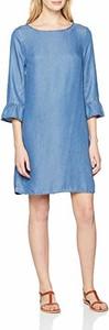 Sukienka amazon.de z długim rękawem z okrągłym dekoltem w stylu casual