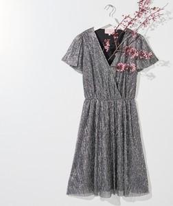 Sukienka Mohito mini z dekoltem w kształcie litery v