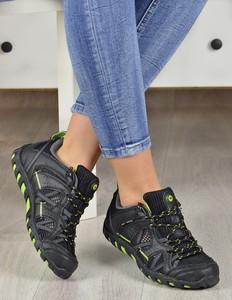 Granatowe buty sportowe Damle w sportowym stylu