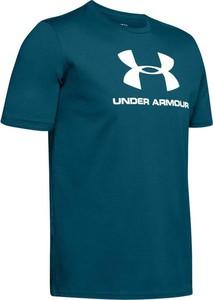 T-shirt Under Armour z nadrukiem z bawełny