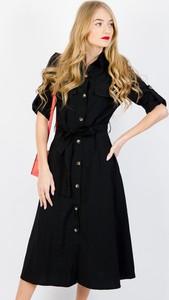 Sukienka Olika z długim rękawem szmizjerka w stylu casual