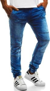 Jeansy ozonee.pl w street stylu z jeansu