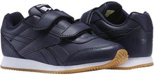 Niebieskie buty sportowe dziecięce Reebok na rzepy