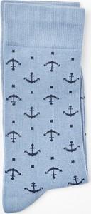 Niebieskie skarpety Recman