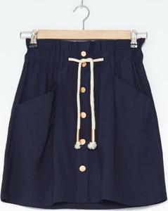 Granatowa spódnica House mini