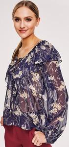 Koszula diversesystem z tkaniny z długim rękawem