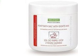Bielenda Professional, Foot Bath Salt With Goats's Milk, sól do kąpieli stóp z kozim mlekiem, 600 g