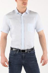 Koszula Trussardi Jeans z lnu
