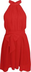 Sukienka Ivon mini z dekoltem halter