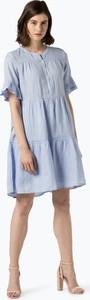 Niebieska sukienka 0039 Italy midi w stylu casual