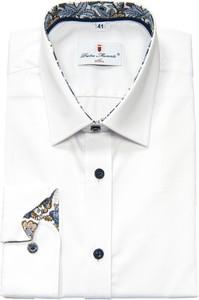 Koszula Pietro Monti z bawełny z klasycznym kołnierzykiem