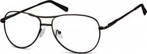 Sunoptic Okulary oprawki dziecięce zerówki Pilotki MK1-46 czarne