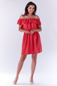 Sukienka Awama z lnu mini
