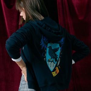 Granatowa bluza Sinsay
