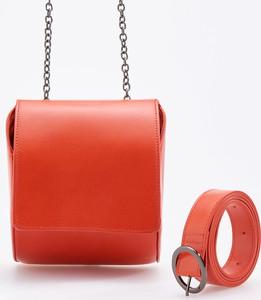 Pomarańczowa torebka Reserved mała