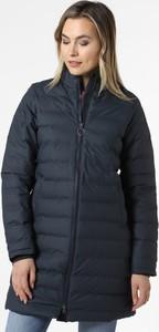 Granatowy płaszcz Derbe w stylu casual