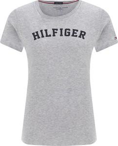 T-shirt Tommy Hilfiger z bawełny z krótkim rękawem z okrągłym dekoltem