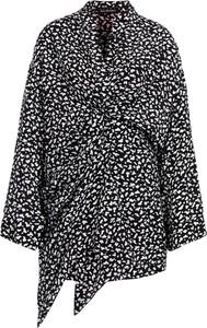 Sukienka The Kooples z dekoltem w kształcie litery v asymetryczna mini