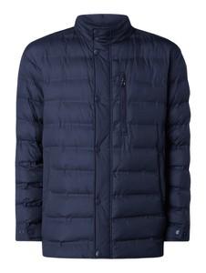 Granatowa kurtka Pierre Cardin w stylu casual