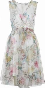 Sukienka VISSAVI midi w stylu casual bez rękawów