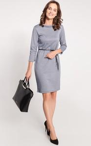 Sukienka QUIOSQUE mini z długim rękawem