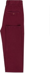 Bordowe spodnie giacomo conti