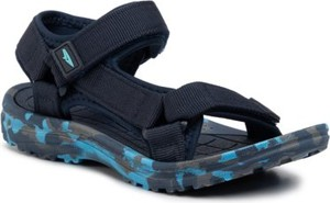 Granatowe buty dziecięce letnie Sprandi na rzepy