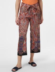 Spodnie Cambio z nadrukiem