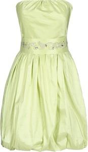 Żółta sukienka Fokus gorsetowa