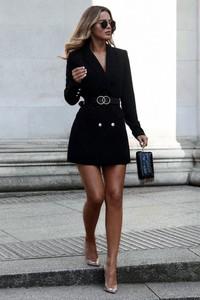 Czarna sukienka Ivet.pl mini