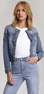 Niebieska kurtka Renee w stylu casual