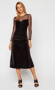 Sukienka Nissa z długim rękawem midi