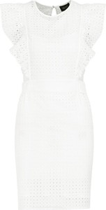 Sukienka Liu-Jo bez rękawów z okrągłym dekoltem mini