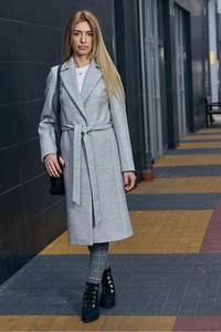 Płaszcz Mattire z wełny w stylu casual