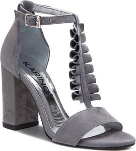 Sandały Karino w stylu casual na średnim obcasie