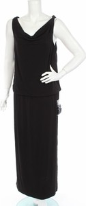 Czarna sukienka Thomas Rath maxi