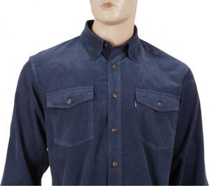 Koszula Dockland z bawełny z długim rękawem
