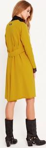 Sukienka Byinsomnia z długim rękawem prosta z okrągłym dekoltem