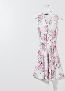 Sukienka Mohito bez rękawów w stylu boho z dekoltem w kształcie litery v