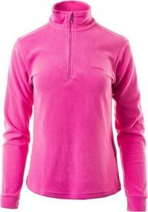 Różowy sweter sklepiguana z plaru w sportowym stylu