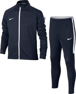 Niebieski dres dziecięcy Nike Football z dzianiny