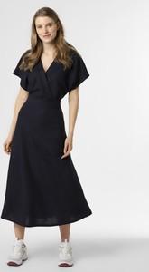 Sukienka Esprit midi z dekoltem w kształcie litery v