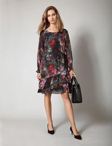 Sukienka Molton z długim rękawem