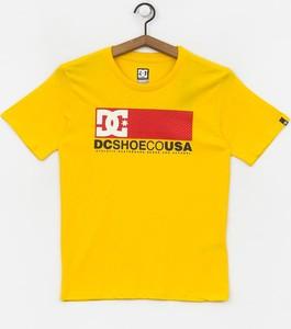 Koszulka dziecięca DC Shoes z bawełny