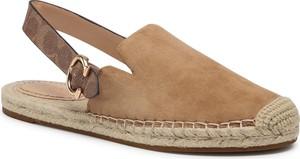 Brązowe sandały Coach