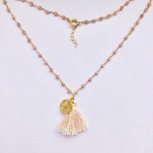 Peani Naszyjnik rosary z chwostem