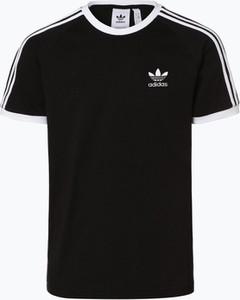 Czarny t-shirt Adidas Originals z krótkim rękawem