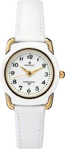 Zegarek na komunię damski PERFECT - LP144 -biały