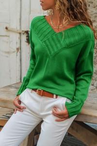 Zielony sweter Ivet.pl